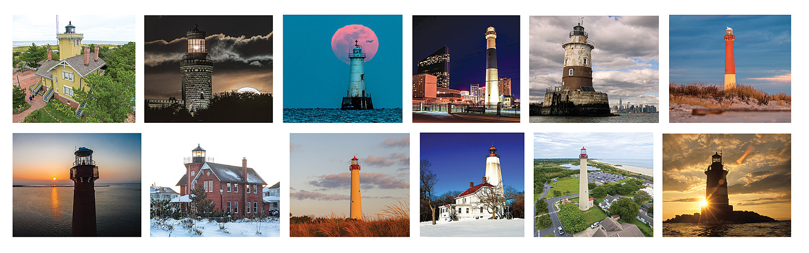 lighthouses 2019 calendar